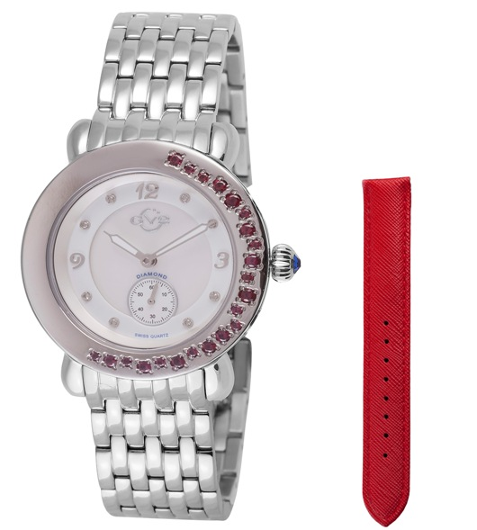 GV2 9890 Marsala Gemstone Watch Collection