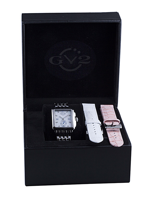 The GV2 Bari Full Package, Including Interchangeable Leather Straps