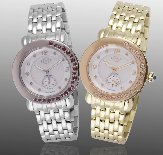 GV2 Marsala Gemstone Watch Collection