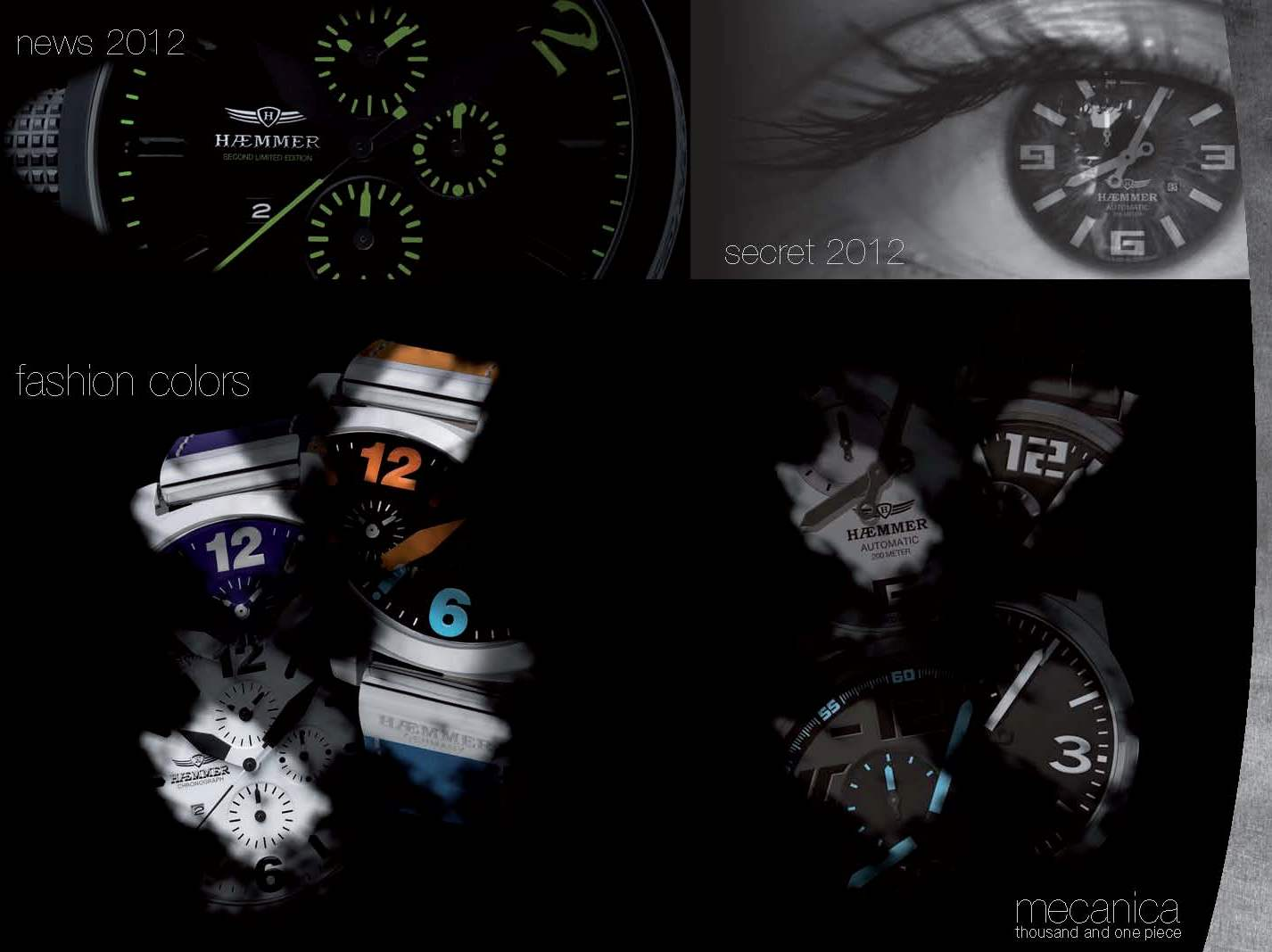 Haemmer Watches Make Huge Impression at Baselworld 2012
