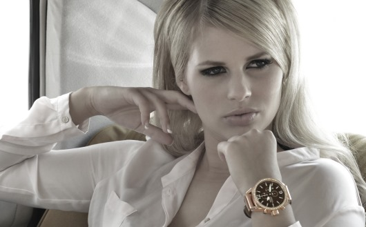 Miss Germany, Caroline Noeding, Sporting a Haemmer Watch