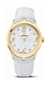 Hanowa Ladies 16-6000.02.001.10 Timeless Collection White Mother-of-Pearl Dial Watch
