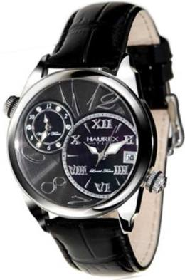 Haurex 6A283DGN Unisex Double-Time Fashion Watch