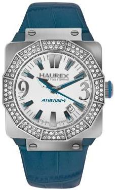 Haurex Ladies 8S372DWB ATHENUM Collection White Dial Fashion Watch