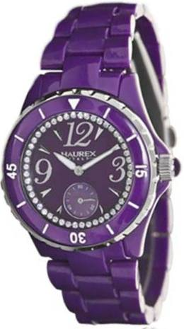 Haurex Ladies PP342DPP Purple Plasteramic Quartz Fashion Watch