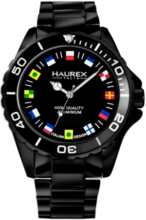 Haurex Mens 7K374UNF INK Collection International Flags Fashion Watch
