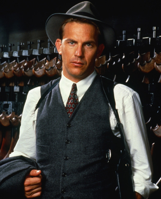 Kevin Costner Stars in The Untouchables