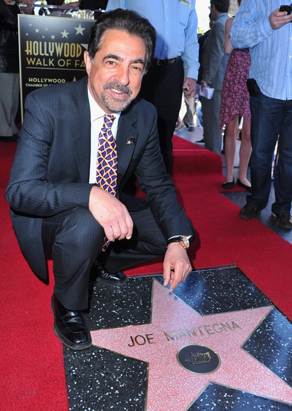 Mantegna on Hollywood Walk of Fame
