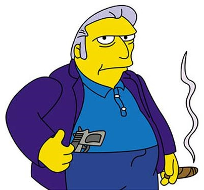 Mantegna's Character Fat Tony
