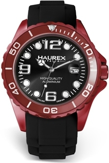 Haurex 1K374UNN INK Collections Featuring Aluminum and Rubber as Announced at Baselworld 2011