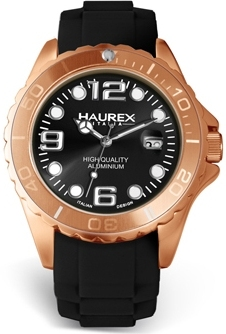 Haurex 1K374UVV INK Collections Featuring Aluminum and Rubber as Announced at Baselworld 2011