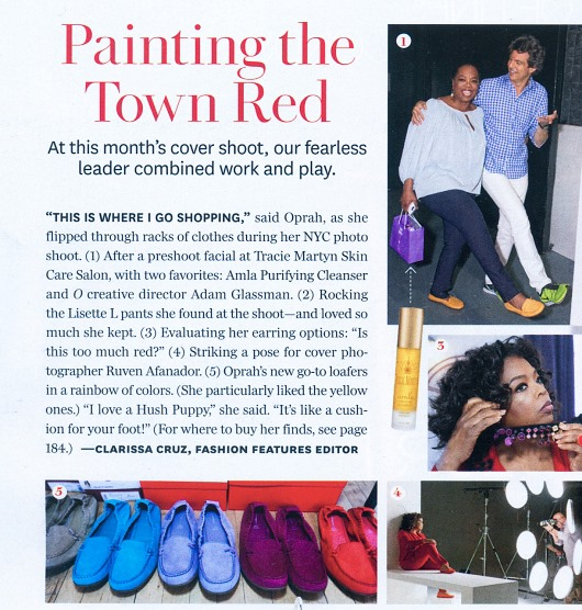 Hush Puppies Ceil Loafers Featured in Oprah Magazine