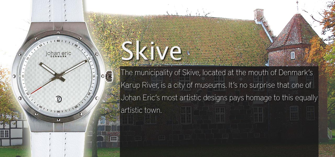 Johan Eric Skive Watch Collection