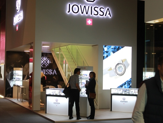 Jowissa Booth at Baselworld 2014
