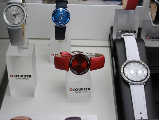 Jowissa Luce and Cara on Display at Baselworld 2014