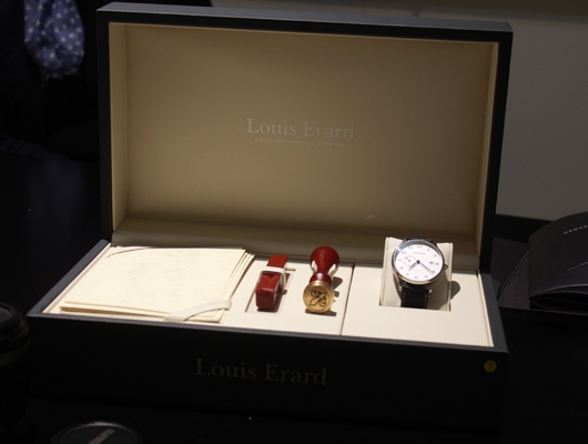 Louis Erard 1931 Vintage Small Seconds Presentation Box