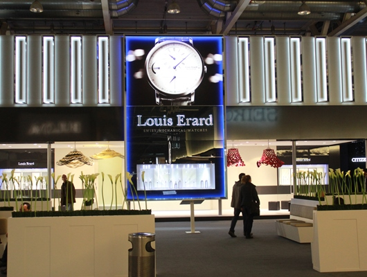 Louis Erard Booth at Baselworld 2014
