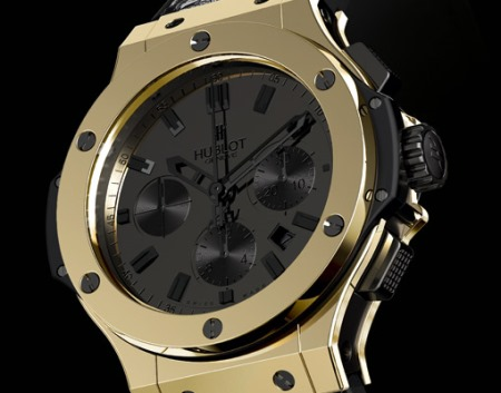 Hublot Watch with Magic Gold