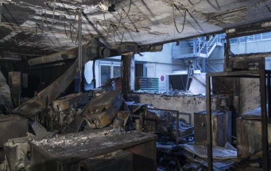 Swatch Group's ETA Galvanic Department Workshop Fire Damage