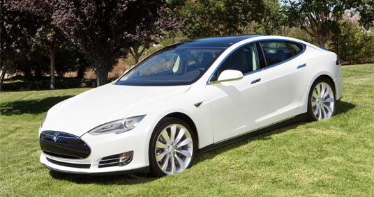 Tesla Model S Luxury Electric Car