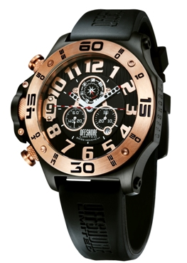 Offshore Limited Mens OFF009C Tornade Collection Chronograph Watch