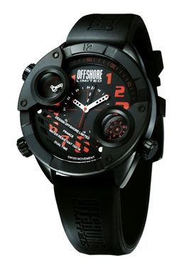 Offshore Limited Mens OFF010F Cockpit Collection Watch