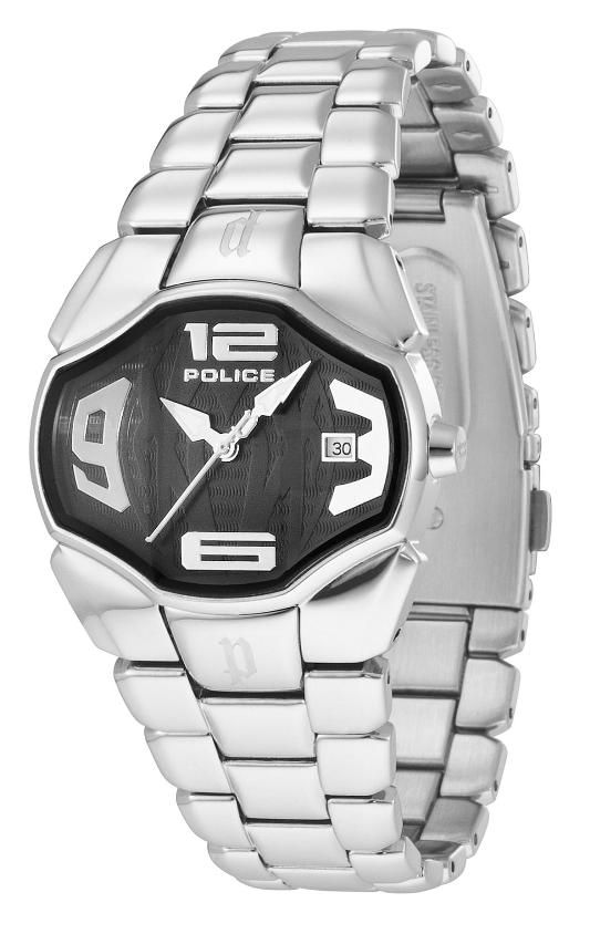 Police Ladies PL.12896BS/02M Angel Collection Black Dial Watch