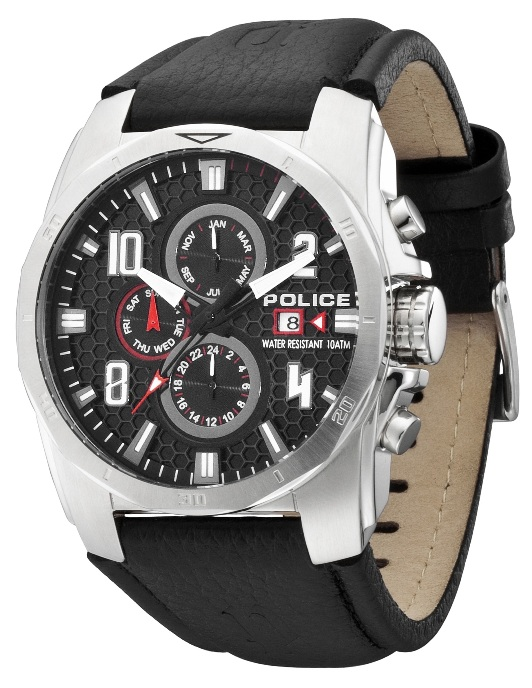 POLICE Mens PL 12900JS/02 Cluster Multifunction Chronograph Watch