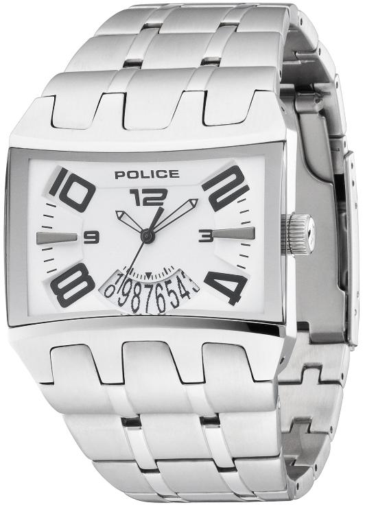 POLICE Mens PL 12079JS/01M Dimension Watch