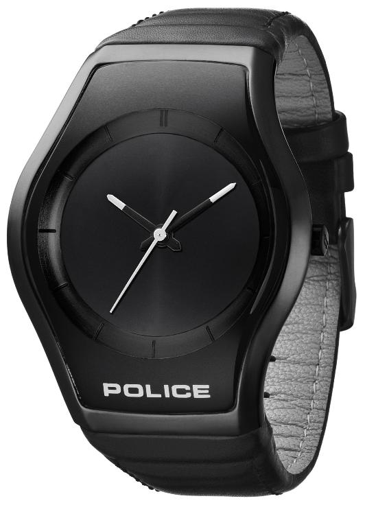 POLICE Mens PL 12778MSU/61 Black Dial Sphere Watch