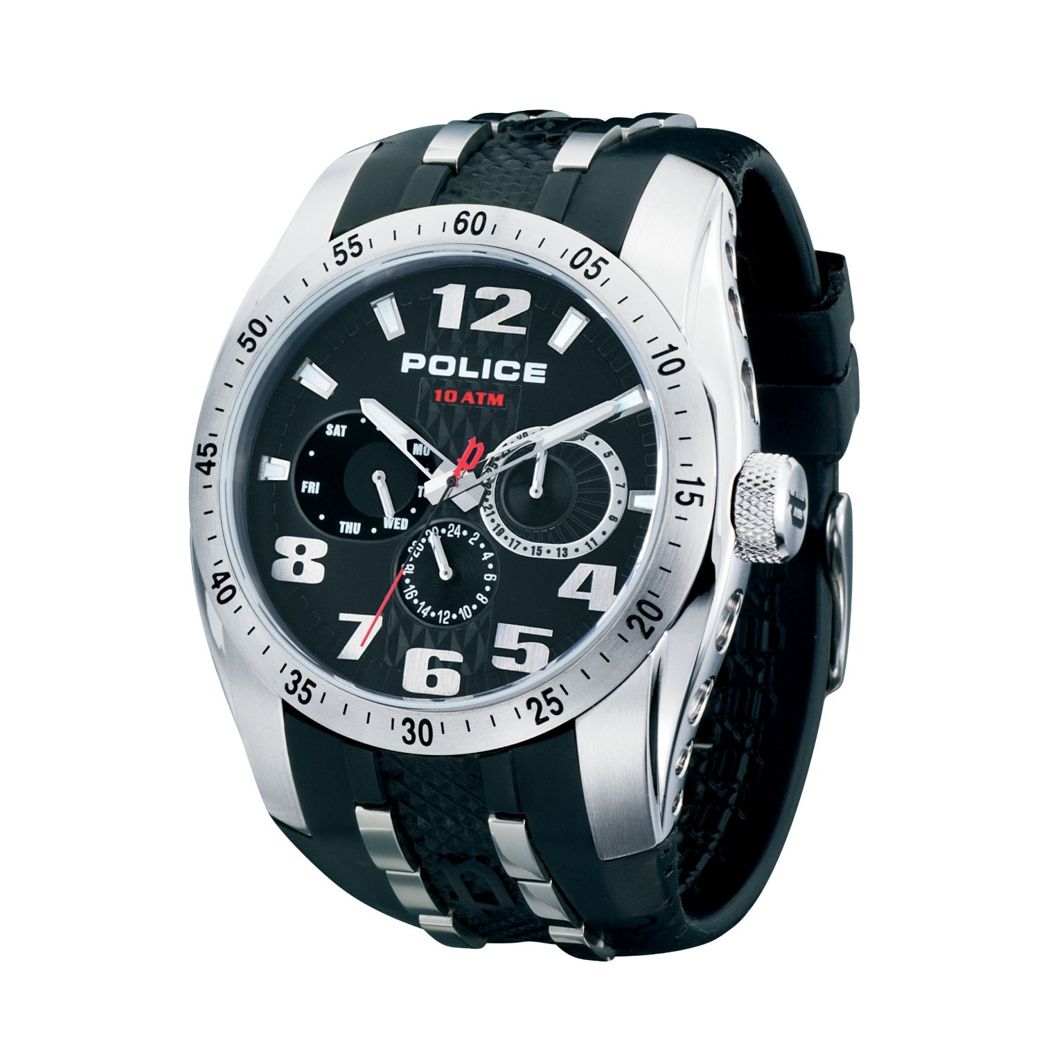 POLICE Mens PL.12087JS/02 TopGear Chronograph Watch