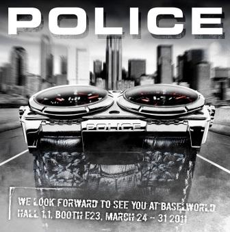 Come See the New POLICE STORM Jewelry at BASELWORLD 2011