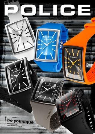 Come See the New POLICE VANTAGE-X  Watch at BASELWORLD 2011