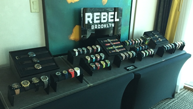 Rebel Brooklyn Watches Debut at JCK Las Vegas 2017
