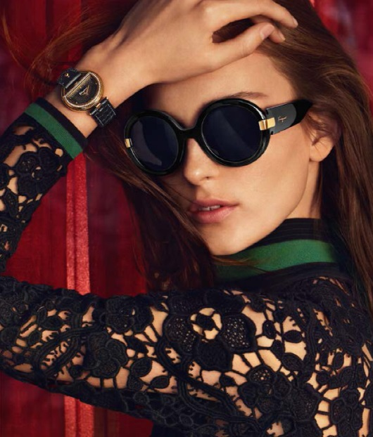 Ferragamo Buckle Watch Featured in 2015 Fall-Winter Campaign