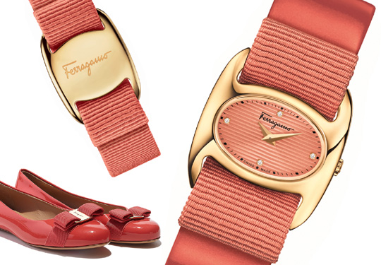 Ferragamo Varina Shoes and Watch - FIE020015