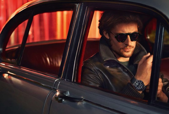 Ferragamo Watches Fall-Winter 2015 Campaign Featuring 1898 Sport Watch