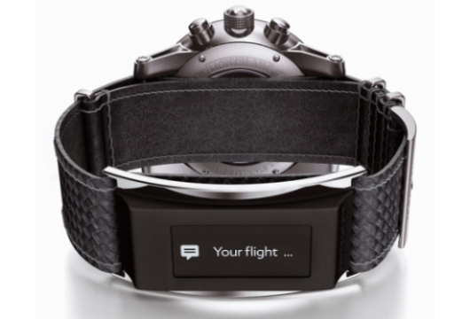 Montblanc E-Straps Adds Functionality to Luxury Watches