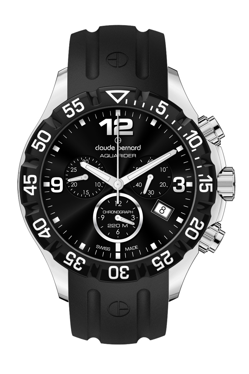 Claude Bernard Sports Watches - Mens 10205 3 NIN Extreme Sports Chronograph