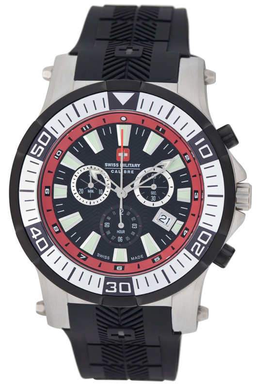 Swiss Military Calibre Mens 06-4H1-04-004 Hawk Chronograph