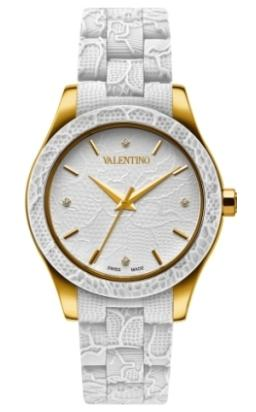 Valentino Ladies V57MBQ4R01IS001 Lace Collection Watch