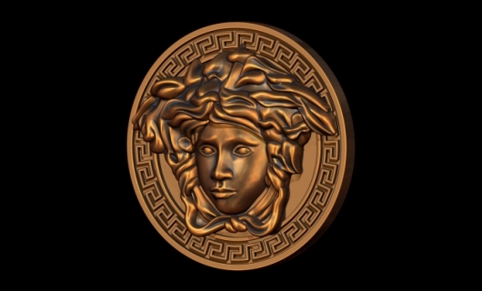 Versace Greek Key Medusa