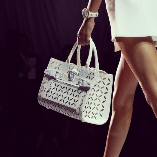 Versace Palazzo Bag Walks The Runway at Spring Summer '15 Fashion Show