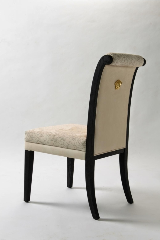 Versace Dining Chair With Medusa
