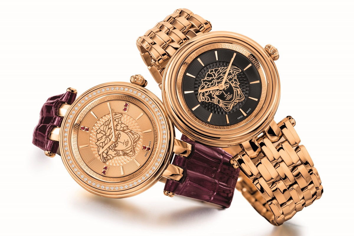 Versace Watches on Lines Shapes And Designs