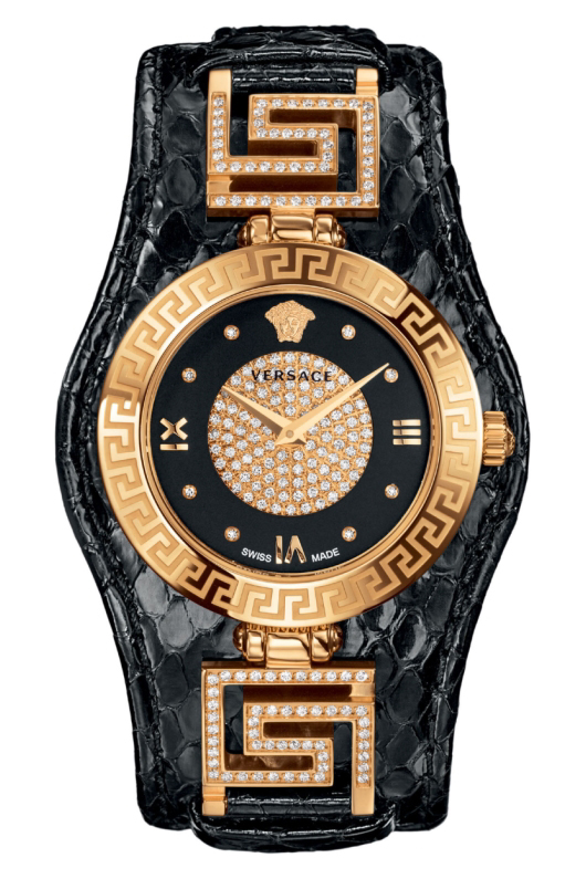 Versace V-Signature Holiday Edition Black