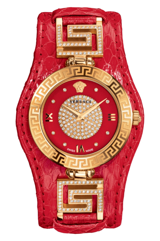 Versace V-Signature Holiday Edition Red