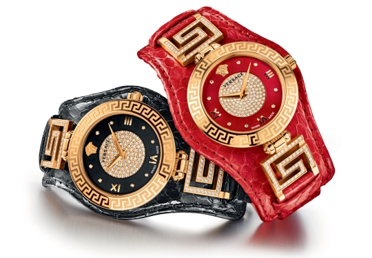 Versace V-Signature Holiday Edition Watch Collection