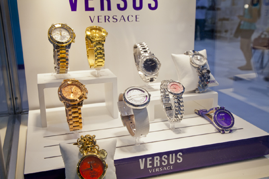 Versus Watches Display at WWD Magic Trade Show 2013