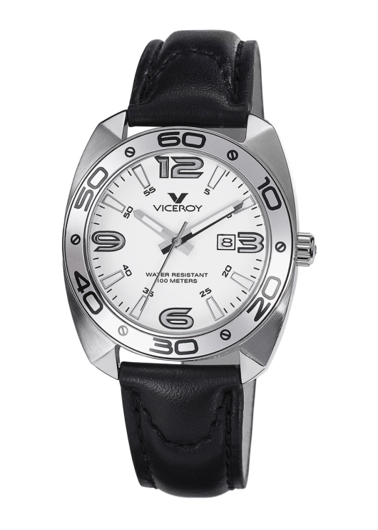 Viceroy 46680-05 Women's Communion Tonneau Stainless Steel Case Luminous Watch